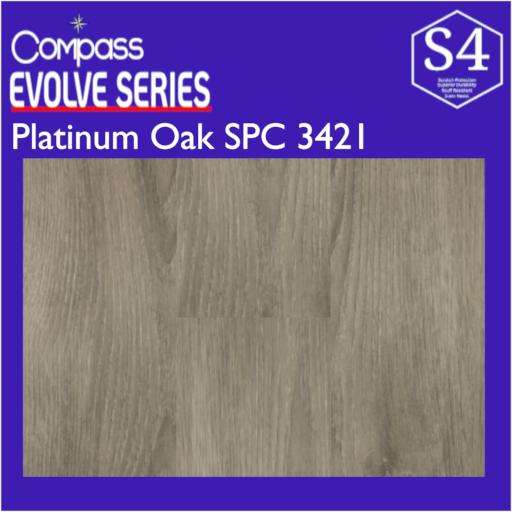 Compass Platinum Oak SPC 3421
